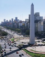 View of downtown Buenos Aires