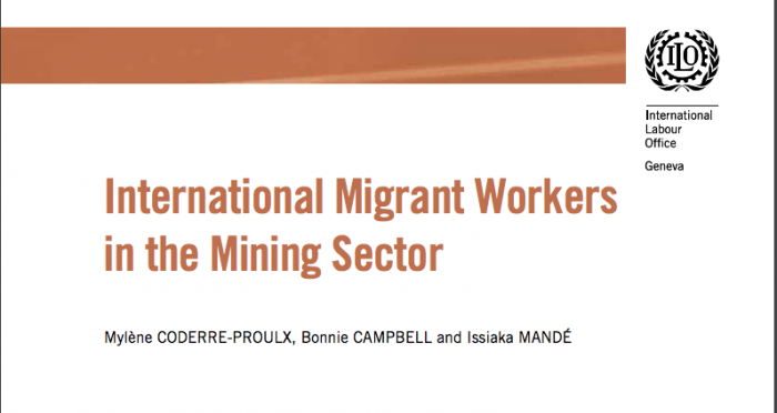 International Migrant Worker in the Mining Sector