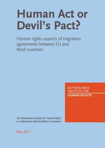 Report : 'Human Act or Devil's Pact'
