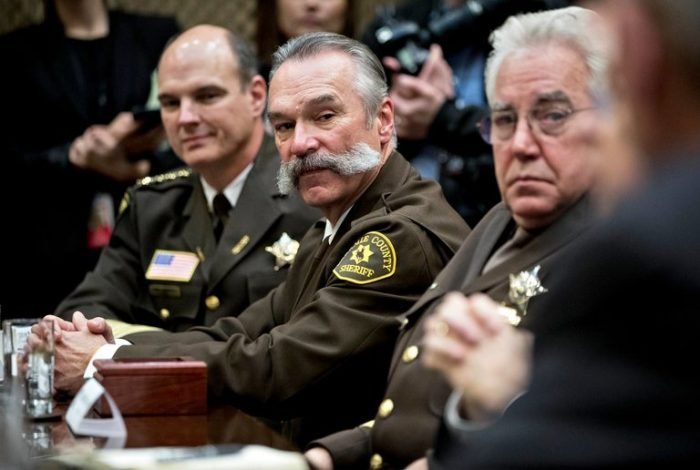 Listen to 'The Daily': The Sheriff Bind